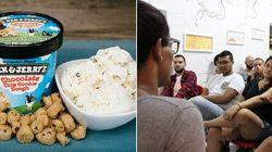 Renda dos sorvetes vendidos hoje por Ben & Jerry's irá para centro de acolhimento