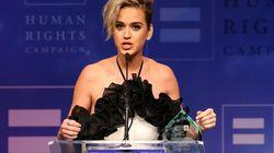 Katy Perry abriu o coração em discurso sobre preconceito contra LGBTs e