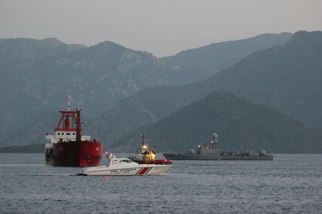 Ναυάγιο φορτηγού πλοίου με έξι νεκρούς κοντά στις τουρκικές