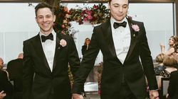 As fotos do casamento de Jim Parsons e Todd Spiewak ficaram