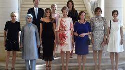 A 1ª vez que um marido de chefe de Estado posa ao lado de primeiras-damas em foto oficial da