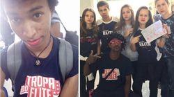 Estudantes de todo o Brasil usam batom após aluno ser repreendido por