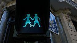 Viva o amor: Madri cria semáforos com casais gays em homenagem à Parada