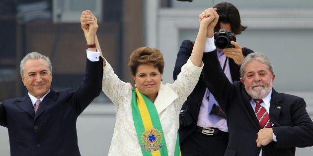 Temer, o vice de Dilma, foi escolha do PT de