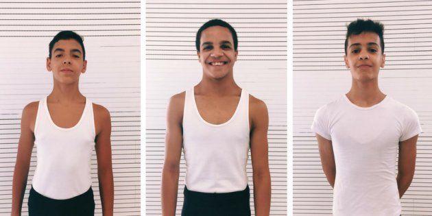 Murilo, Pablo e Pedro são bailarinos promissores de São