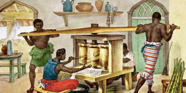 Ilustração de Jean Baptiste Debret disponível na Biblioteca Nacional de Paris, na
