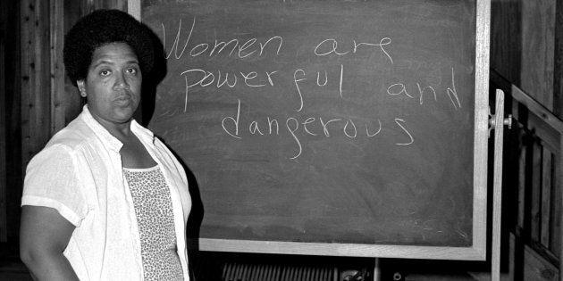 A feminista Audre Lorde em