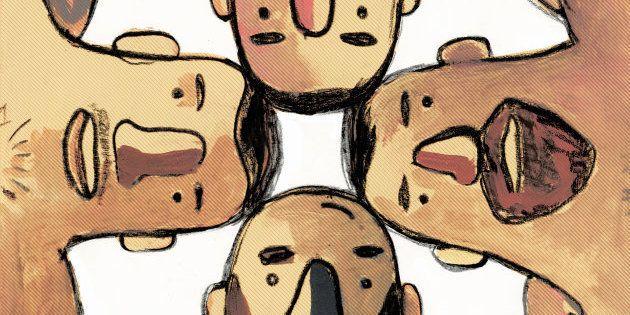 Ilustrador mexicano retrata a intimidade masculina com olhar divertido e