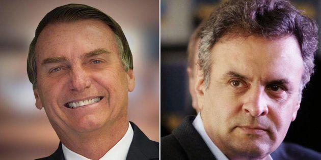 Eleitores de direita têm preferido Bolsonaro a Aécio, de acordo com pesquisas