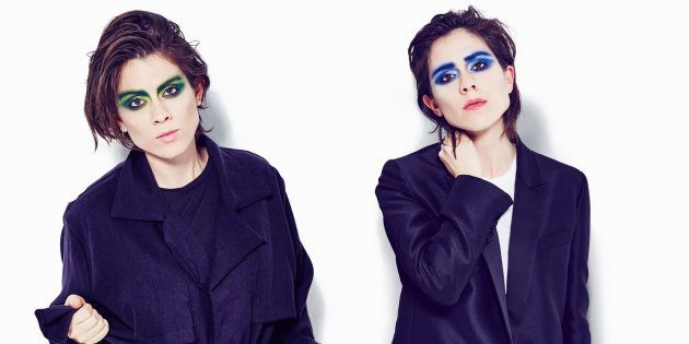 As gêmeas canadenses Tegan e Sara vão se apresentar no