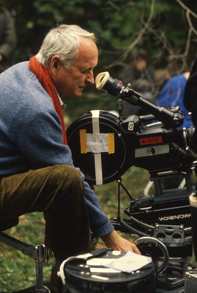 O diretor e roteirista norte-americano no set de
