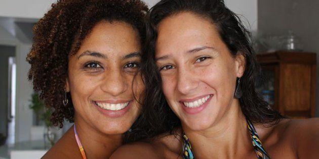 Foto do arquivo pessoal de Mônica, divulgada no vídeo da Anistia