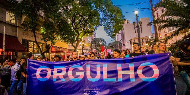 A primeira Marcha do Orgulho Trans aconteceu em 1ª de junho de 2018, em São