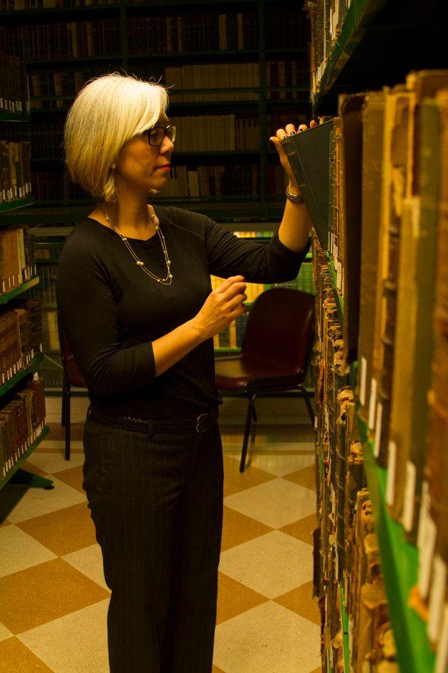 Claudia Suemoto durante