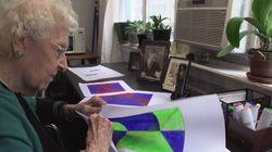 Esta artista foi reconhecida aos 101 anos: 'Eu estava à frente do meu tempo e paguei por