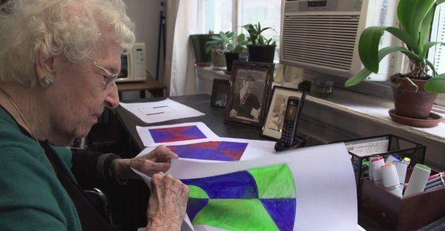 Esta artista foi reconhecida apenas aos 101 anos: 'Eu estava à frente do meu tempo e paguei por