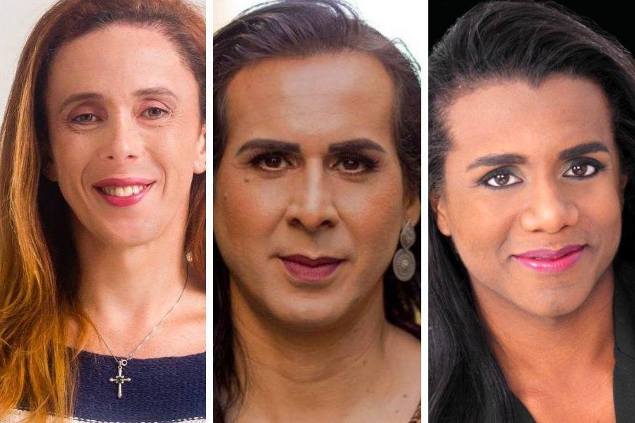 Giowana Cambrone, Duda Salabert e Robeyoncé Lima são nomes que representam a população trans nestas