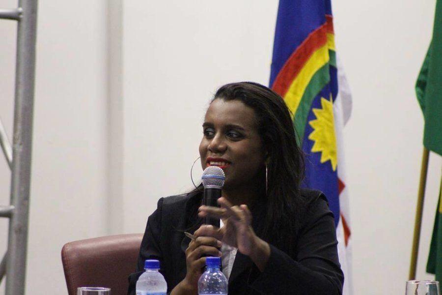 Robeyoncé Lima é co-candidata a deputada estadual em Pernambuco pela chapa coletiva Juntas, do