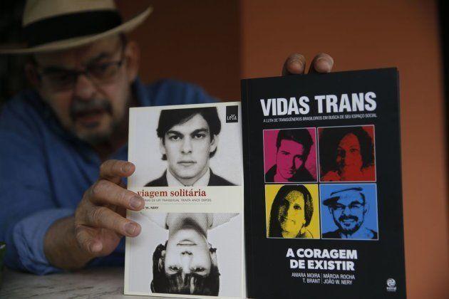 'Viagem Solitária' e 'Vidas Trans', os dois livros publicados por João Nery em