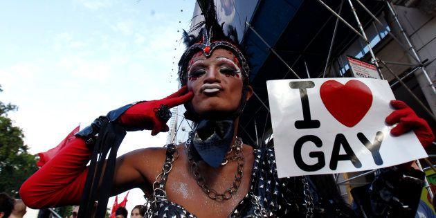 Imagem da Parada LGBTem Buenos Aires, na Argentina, em novembro de