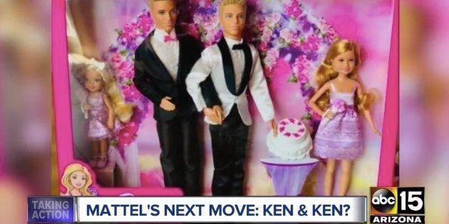 História do casal envolvendo a marca Mattel foi revelada no