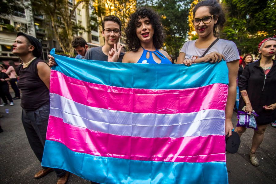 Passeada pelo orgulho de ser transexual aconteceu em 1º de junho de 2018, em São