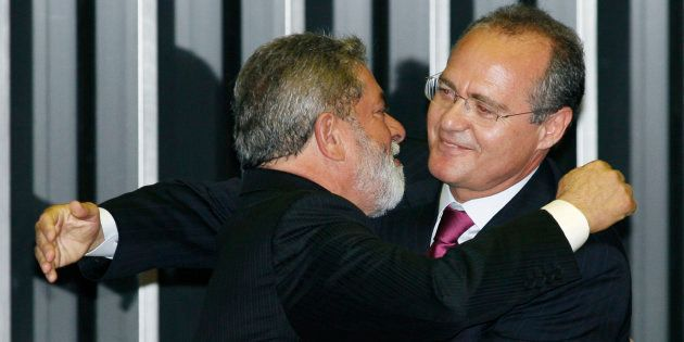 Lula e Renan sempre mantiveram a aliança, a despeito de aparente cisão entre PT e