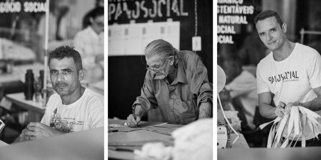 Projeto de moda sustentável contrata mão de obra de ex-presidiários para fabricar camisetas de algodão...