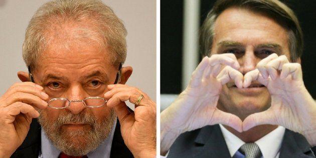 Pesquisa Datafolha divulgada neste domingo (30) mostrou o ex-presidente Lula no primeiro lugar faz intenções...