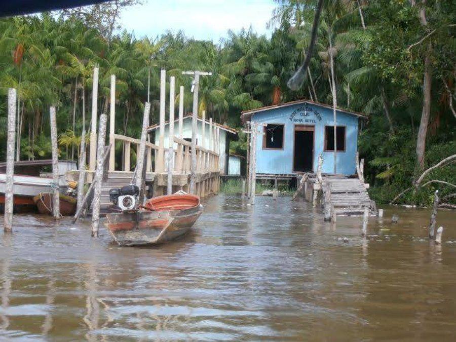 Ilhas na região de Belém, no