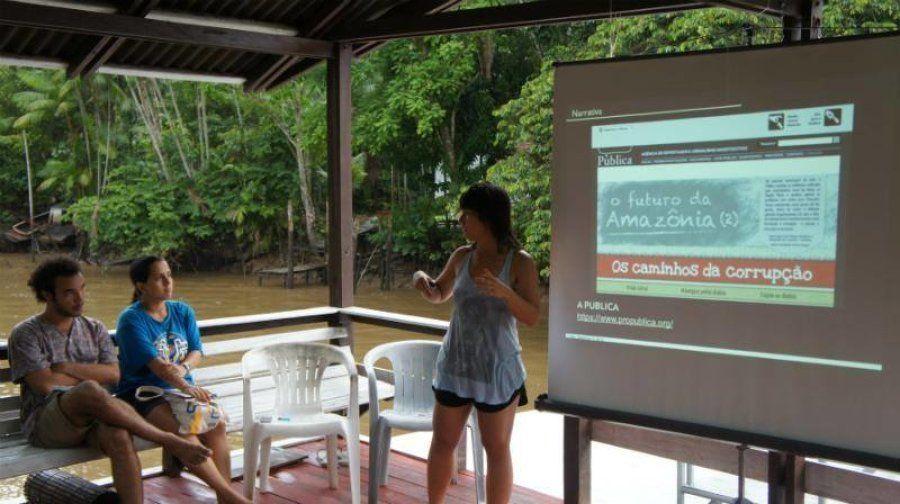 Workshop de Dados Abertos na Ilha do