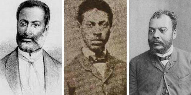 Luiza Gama, André Rebouças e José do