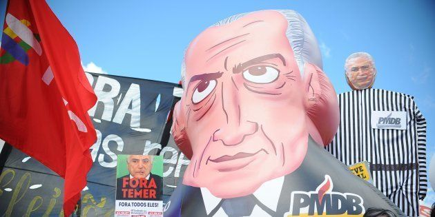 O dia 24 de maio é marcado por manifestações contra o presidente Michel Temer em