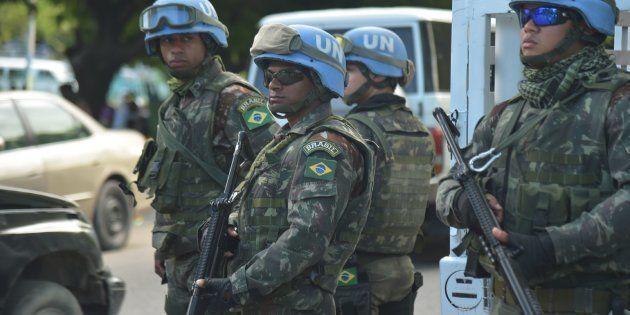 Militares brasileiros são membros da Missão de Estabilização da ONU no