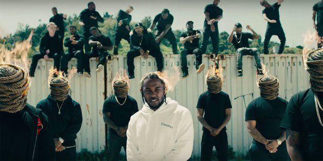 Clipe de Kendrick Lamar para a