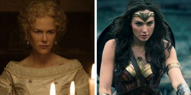 Os filmes 'Mulher Maravilha' e 'O Estranho que nós amamos' apagam personagens negras das histórias
