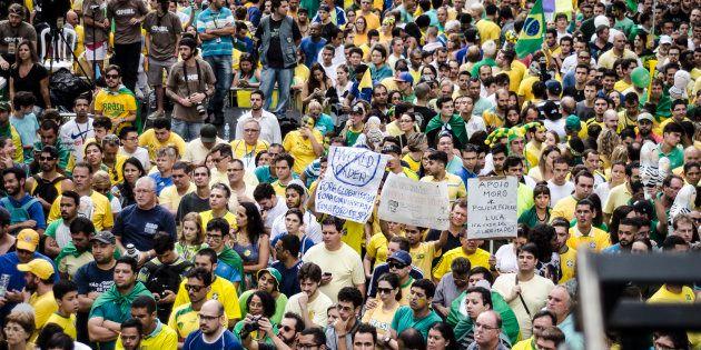 Protestos contra corrupção começaram em 2013 e tiveram ápice no ano passado antes do impeachment de Dilma