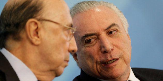 O presidente Michel Temer e o ministro da Economia, Henrique Meirelles, são defensores da