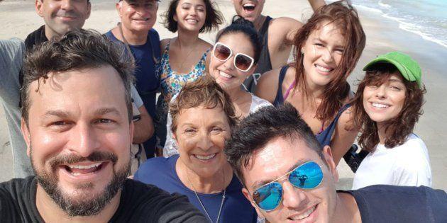 A família Schurmann convidou oito pessoas totalmente diferentes para uma aventura pela costa