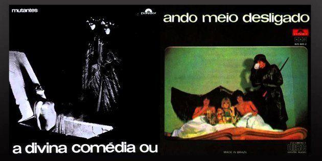 A música 'Jogo de Calçada', do disco 'A divina comédia ou ando meio desligado', saiu das mãos de