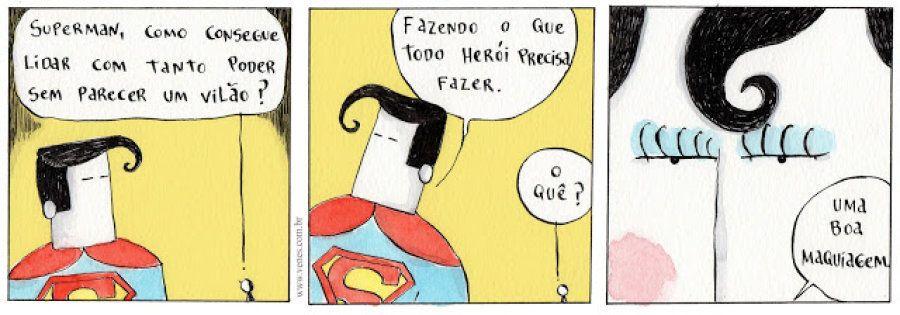 TIRINHA: O segredo do Super-Homem para salvar o