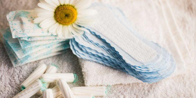 Sem acesso a saneamento básico e a produtos menstruais, muitas mulheres utilizam guardanapos, papel higiênico,...