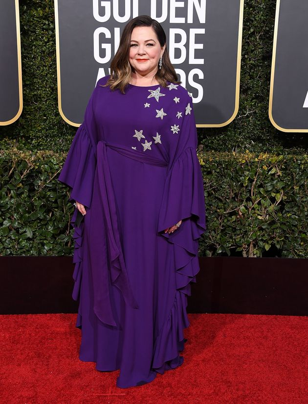 Melissa McCarthy at the Golden Globes on Jan.