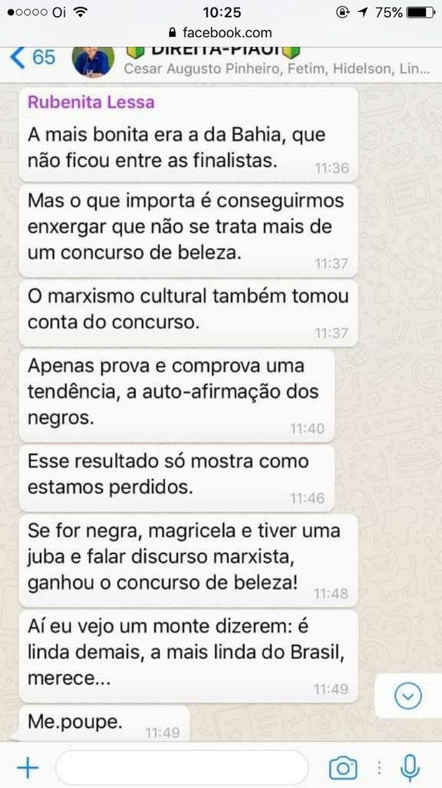 A Miss Brasil 2017 é piauiense, fez o Piauí sorrir e