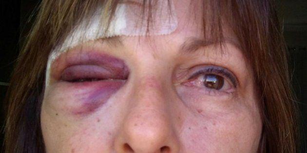 Márcia Friggi foi agredida em sala de aula em Santa