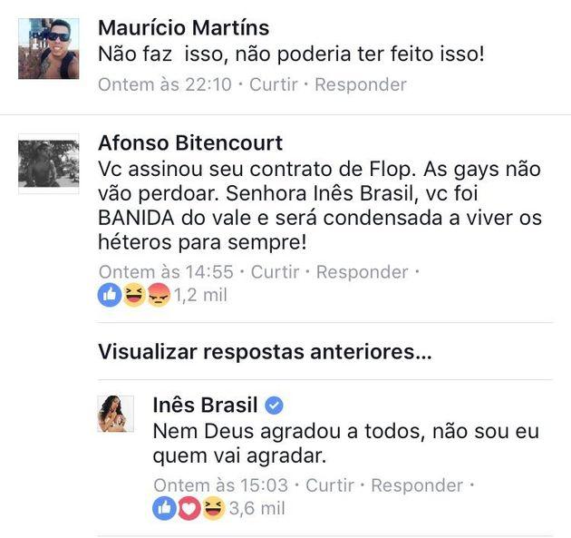 A Inês Brasil 'bolsonete' acha que fazia favor aos