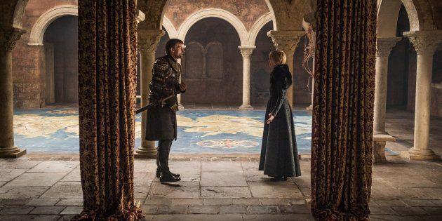 Debate entre Cersei e Jaime: é na resenha que Game of Thrones desenvolve todo o seu potencial