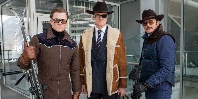 Os atores Gary Unwin, Colin Firth e Pedro Pascal são as estrelas do novo filme da