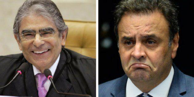 Para o ex-ministro, a decisão de Aécio de recorrer no próprio Supremo mostra um reconhecimento por parte...