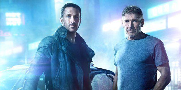 Ryan Gosling e Harrison Ford interpretam Agente K e Deckard,